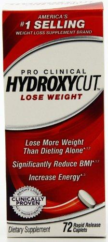 Hydroxycut Pro Clinical, 72 Rapid Release Caplets