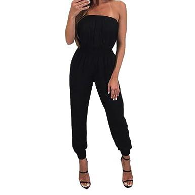 2018 Habillée Combinaison Ete Short Pantalon Bandeau Femme Courte uK135FJTlc