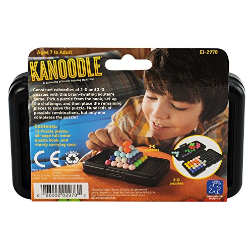 Kanoodle Puzzle by Educational Insights Brain-Teasing Logic Puzzle for Kids | Educational Toys Expert