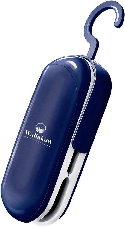 Mini Bag Sealer, Handheld Heat Vacuum Sealers, 2 in 1 Heat Sealer and Cutter, Handheld Sealing Machine for Plastic Bags