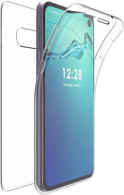 360 Grados Delantera y Trasera de Transparente Vidrio Templado Case Cover Jonwelsy Funda para Samsung Galaxy A91 // S10 Lite Azul Fuerte Tecnolog/ía de Adsorci/ón Magn/ética Metal Bumper para A91