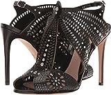Alexander McQueen Women's Sandal Pelle S.Cuoio Black/Black/Silver 39 M EU