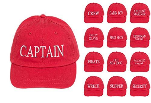 Rosso Bianco Equipaggio Marinaio Sign Militare Cabinista Primo Beanie Rosso Sicurezza Esercito Bianco Antico 4 Capitan compagno Cap Capitano Baseball Yachting xpXwU0Onqg
