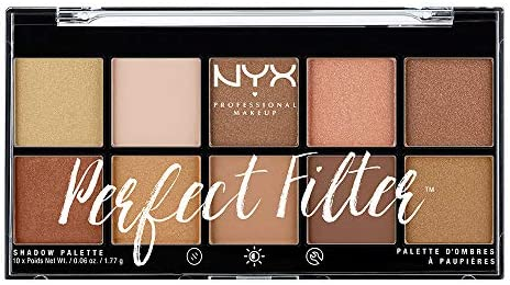 NYX Professional Makeup Perfect Filter Shadow Palette, Golden Hour
