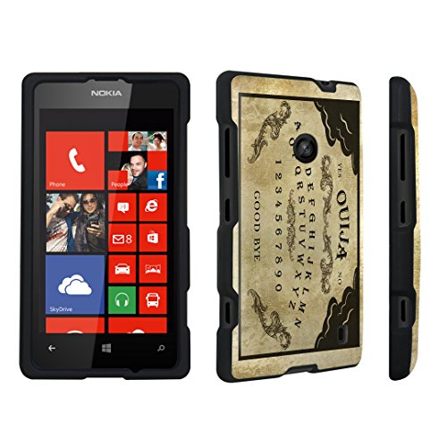 DuroCase ® Nokia Lumia 521 Hard Case Black - (Ouija Board)