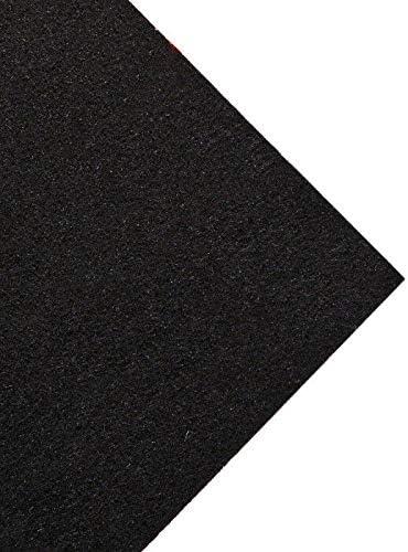 Boot 3m x 1.5m Black Acoustic Carpet//Cloth for Parcel Shelf