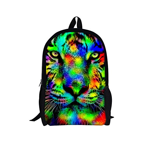 TOREEP Galaxy Print Casual School Backpack Outdoor Travel Bag(Small) (Triathlon Singapore)