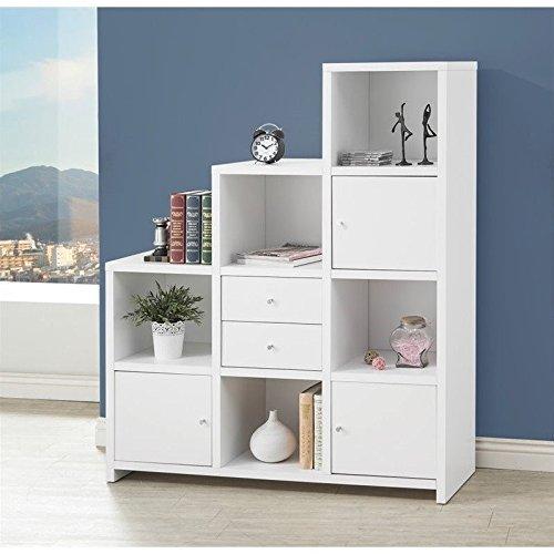 Coaster Home Furnishings 801169 Bookcase, White