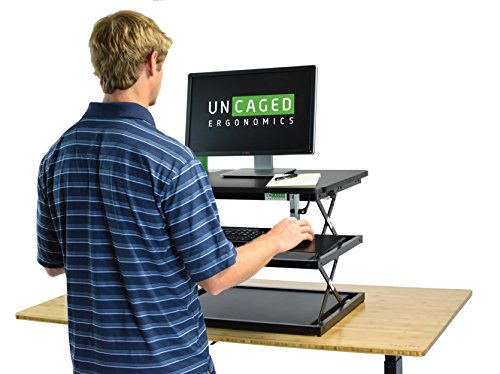 Adjustable Height Standing Desk Conversion