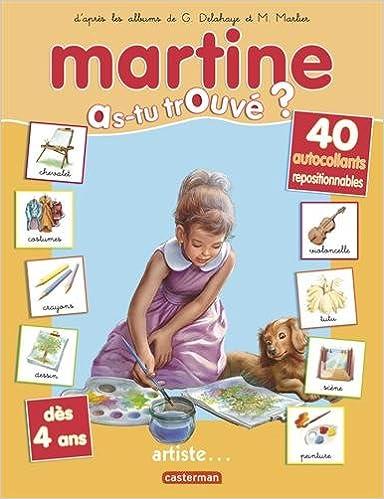 Livres gratuits Martine artiste pdf epub