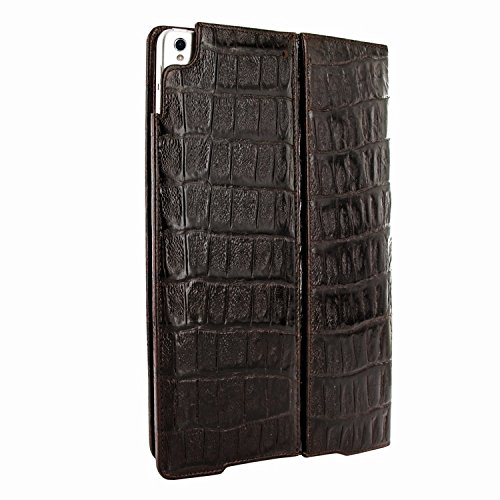 Piel Frama 786 Brown Wild Crocodile Cinema Magnetic Leather Case for Apple iPad Pro 10.5'' by Piel Frama