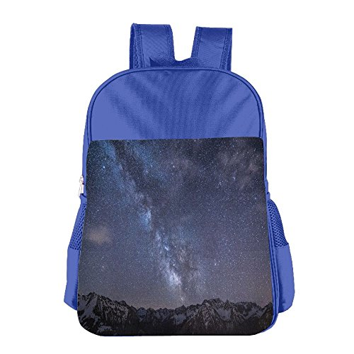 Galasy Night Sky Kid's School Shoulder Backpack Bag Waterproof Children - Yoshi Sunglasses
