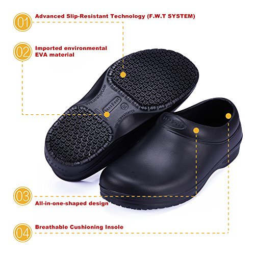 Shoes Slip Chef Non Nurse Slip Shoes Restaurant for Non SensFoot Kitchen Work YHpw8qqO7