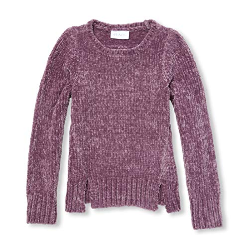 (The Children's Place Big Girls Cold Shoulder Sweaters, Dewberry,)