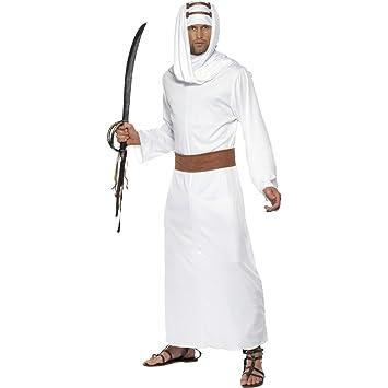 Lawrence de Arabia traje blanco M 48/50 Sheik traje de ...
