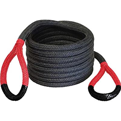 "Bubba Rope 176680RDG 7/8"" x 30' Breaking Strength Original Rope with Standard Red Eye - 28600 lbs. Capacity: Automotive"