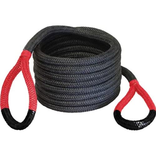 Image of Automotive Bubba Rope 176680RDG 7/8' x 30' Breaking Strength Original Rope with Standard Red Eye - 28600 lbs. Capacity