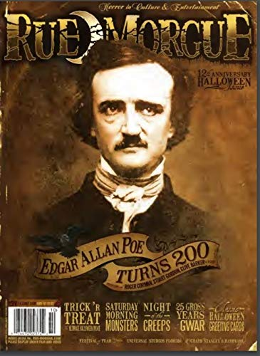 Rue Morgue Edgar Allan Poe Turns 200: Halloween Comic Book]()