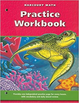 Printables Harcourt Math Worksheets harcourt math practice workbook grade 4 school 4