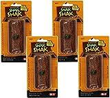 (4 Pack) eCOTRITION Snak Shak Treat Stuffer for Hamster/Gerbil 1.9 Ounces each