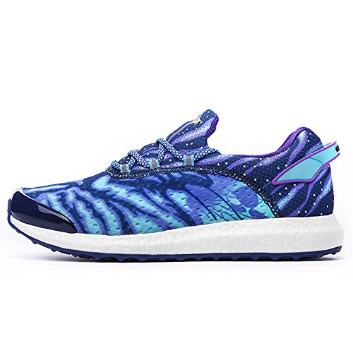 Herrenmode Laufschuhe Leichtgewicht Ghost Sport Walking Sneaker Blau Weiss