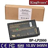 KingSener 8700mAh Laptop Battery for Getac X500 V100 V1010 V200 S400 BP-LP2900/33-01PI 338911120104 BP-LC2600/33-01S1 with Free 2 Years Warrant