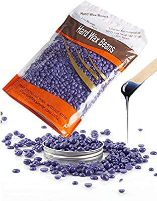 Hard Wax Bean Stripless Natural Hot Film Hair Removal Lavender Chamomile for Women and Men