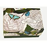Commonwealth Lavare Egyptian Cotton Butterfly Single Bath Soap 12 Oz.