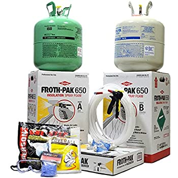 Foam It 602 Slow Rise Diy Polyurethane Spray Foam Kit