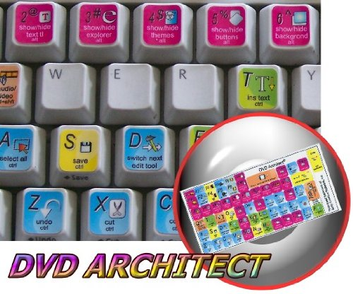 Acer Notebooks Part (NEW SONY CREATIVE SOFTWARE DVD ARCHITECT KEYBOARD STICKERS FOR NOTEBOOK, DESKTOP AND LAPTOP)