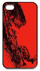 Beautiful Abstract Painting Intense Chasing Custom Ultraslim Fits Hard Back For Apple Iphone 5C Case Cover