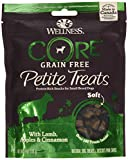 Wellness Petite Treats Small Breed Soft Natural Grain Free Dog Treats, Lamb & Apples, 6-Ounce Bag