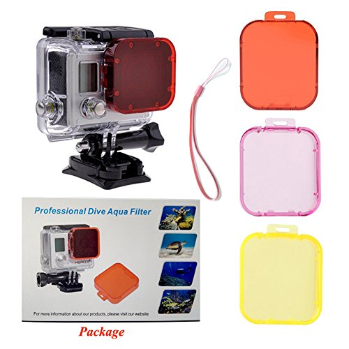 TANSUO Filter Pack Red Cameras housing product image