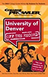University of Denver, Katie Niekerk, 1427401683