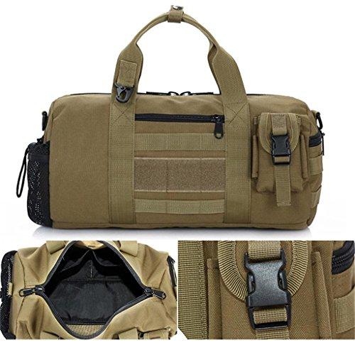 TaoMi- Mochila al aire libre - camuflaje bolso hombro hombres y mujeres al aire libre paquete de deportes bolsa Messenger Bag ( Color : C , Tamaño : 20L ) A