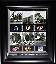 Original Six Arenas 16x20 Compilation NHL Hockey Memorabilia Collector Frame