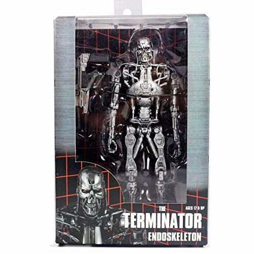 Ivy And Bean Costume (gg The erminator endoskeleton T-800 with Plasma Rifle 7