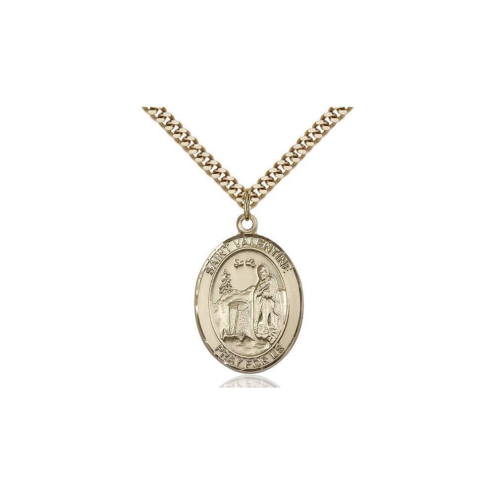 Valentine of Rome Pendant DiamondJewelryNY 14kt Gold Filled St