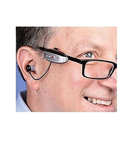 Kagan See Hear Now Personal Sound Amplifier w/ Glasses - Glasses Personal