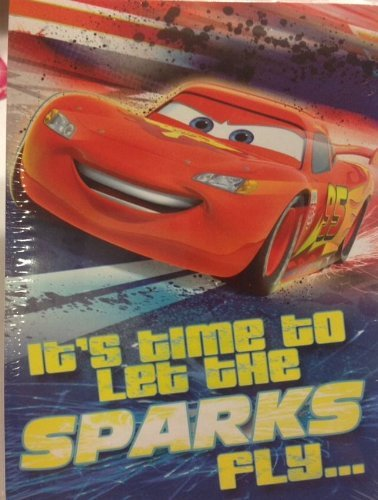 Disney CARS ''LET SPARKS FLY!'' Party INVITATIONS (8 Count) & THANK YOU (8 Count) with Envelopes