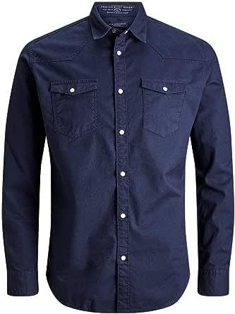 Jack & Jones Jprjohan Shirt L/S Western Camisa de Oficina para Hombre