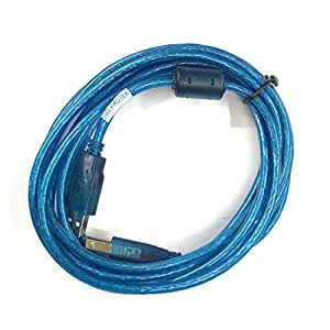 TNT-Protek Cable USB 2.0 escáner de Impresora Comp. para Epson ...