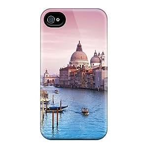 Bernardrmop Iphone 4/4s Well-designed Hard Case Cover Venice Italy Protector