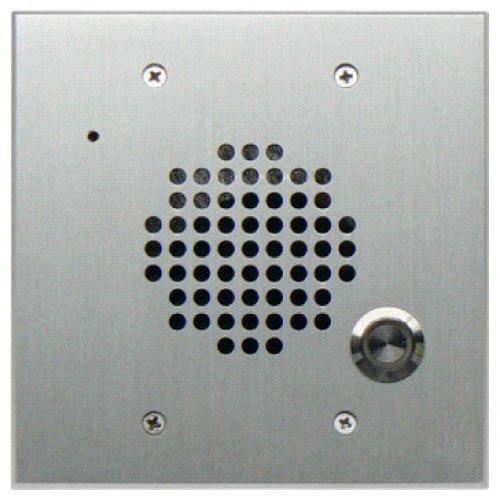 DoorBell Fon DP28 Extra Door Station, 2-Gang Masonry Box Mount, Aluminum (DP28-NSF) - 2 Gang Door Station