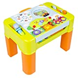 Kids Learning Activity Table With Quiz Music Lights Shapes Tools and More