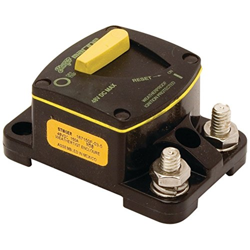 (Stinger SCBM100 Waterproof 100 Amp Marine Circuit Breaker - Ignition Protection Consumer)
