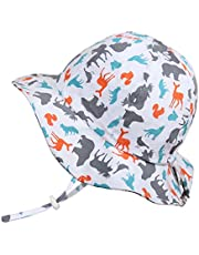 Twinklebelle Baby Toddler Kids Breathable Sun Hat 50 UPF, Adjustable for Grow, Stay-on