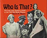 Who Is That?, Warren B. Meyers, 0517376059