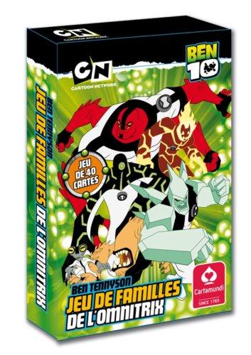 Ben 10-107967904101-Juego De cartas De las familias: Amazon ...