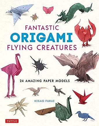 /'NEW/' Realistic Origami Folding Diagram Sea CreaturesJapan Paper Craft Book